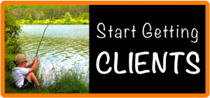 Start getting clients